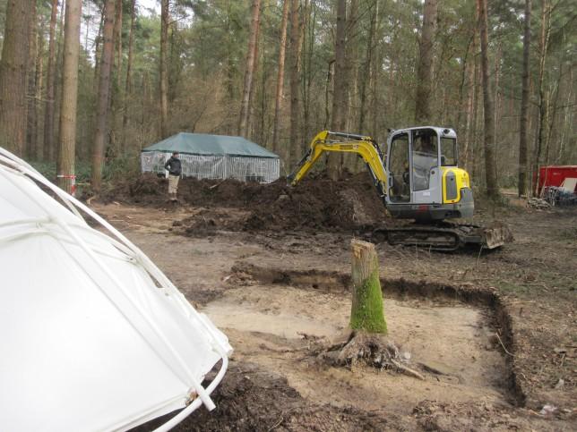 Die historischen Hintergründe der Grabungsarbeiten im Wald von Buschhoven