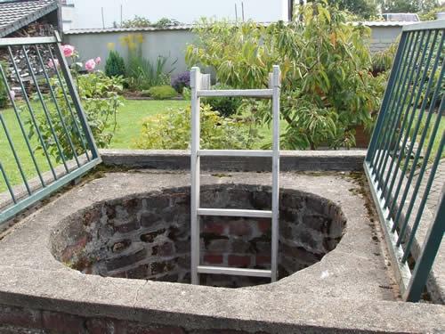 """Garten des Gasthof """"Zum Römerkanal"""""""